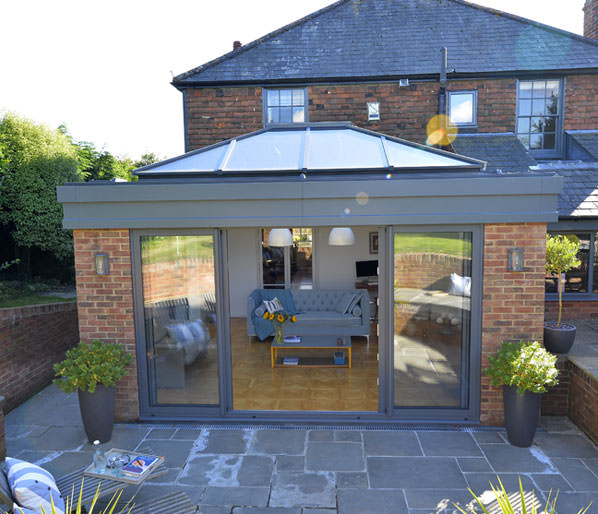 Roof Lanterns | Aluminium Roof Lantern from Hazlemere Home ...
