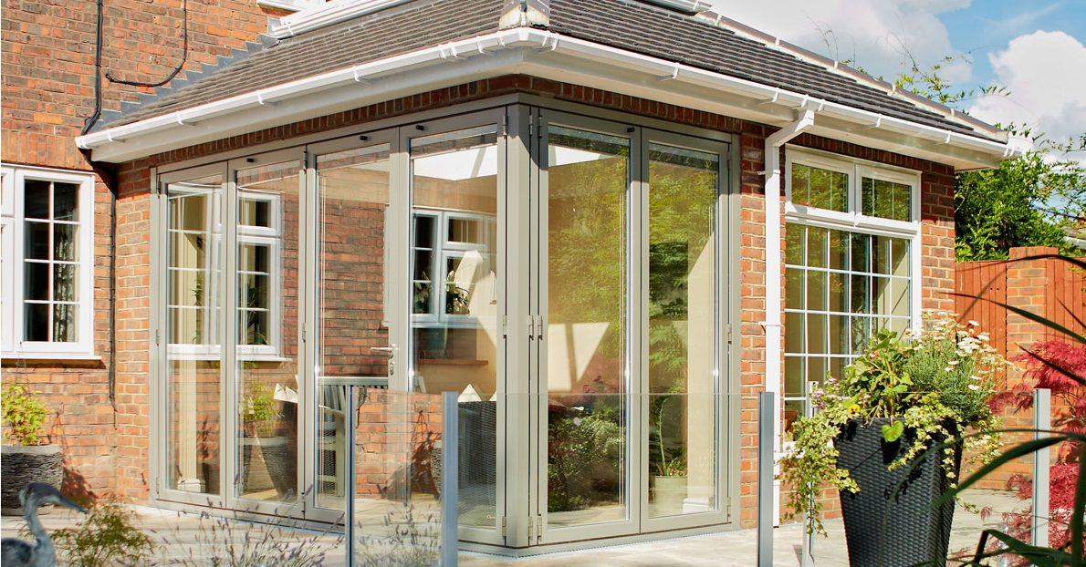 Corner Bi-Fold Doors Crawley