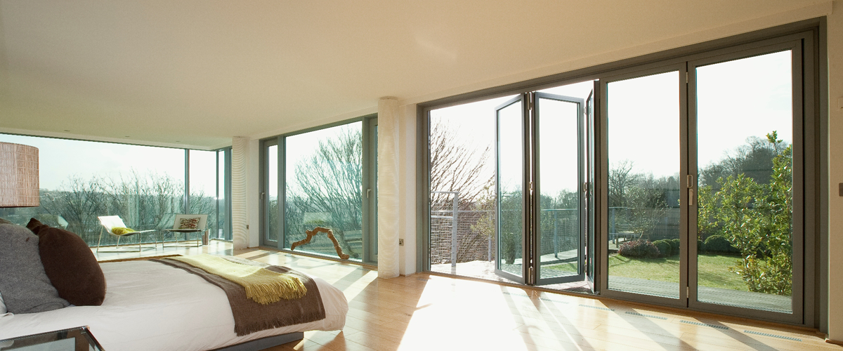 aluminium bi-fold doors sussex